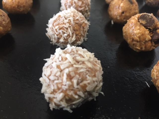 ball coconut closeup