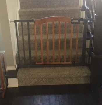 Baby gate safety