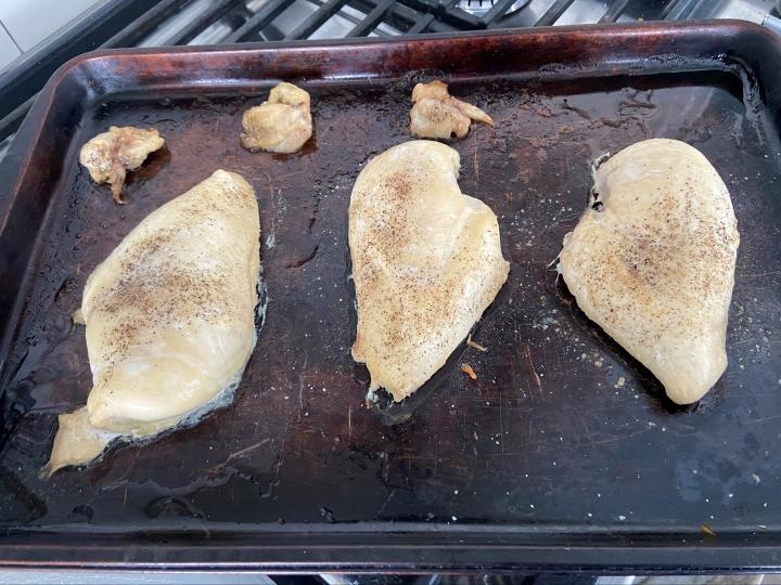 batch cook chicken